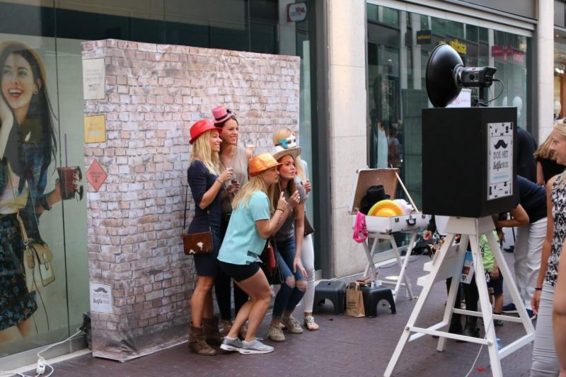 Achtergrond SelfieBox fotobooth compact