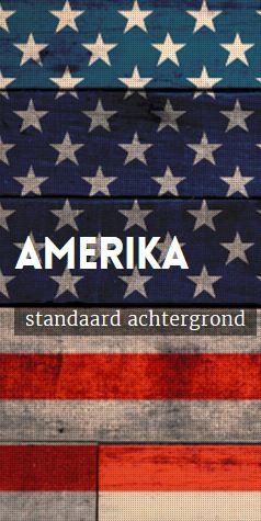 Amerika fotohokje achtergrond