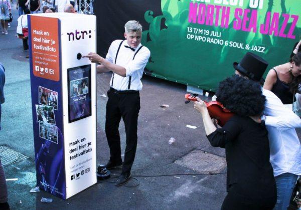 Fotodoos Modern huren fotobooth
