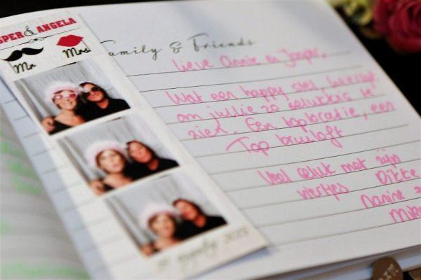 Selfiebox gastenboek service fotohokje