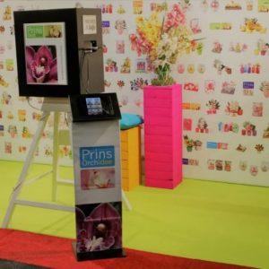 ipad zuil selfiebox fotobooth