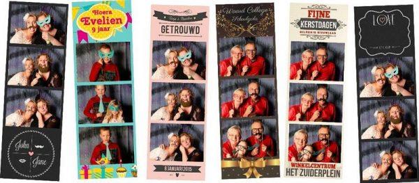 selfiebox Fotostrips printen