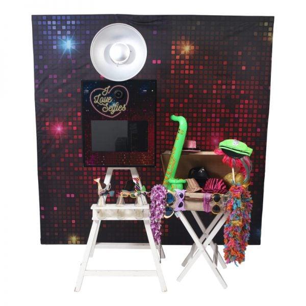 photobooth disco thema props