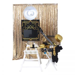photobooth great gatsby thema props