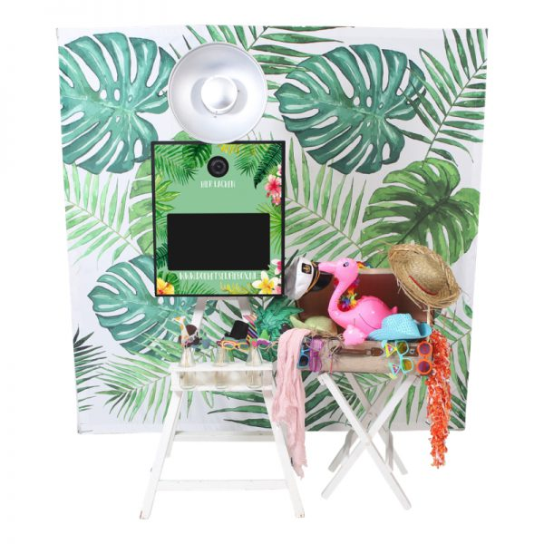 photobooth tropical thema props