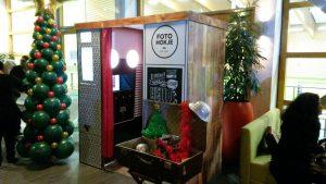 houten fotohokje huren kerst