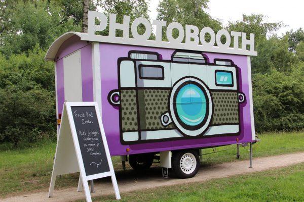 Photobooth huisje keet huren