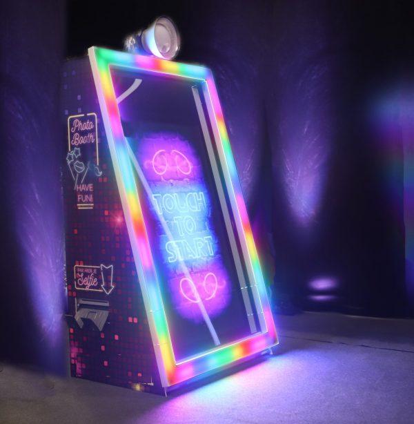 LED disco Fotospiegel