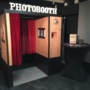 Photobooth fotohokje flitskast
