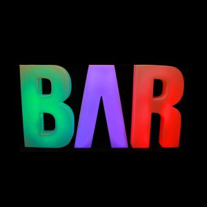 Bar LED lichtletters huren