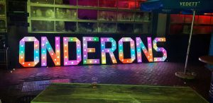 losse lichtletters huren LED