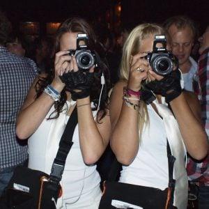 Mobiele fotograaf