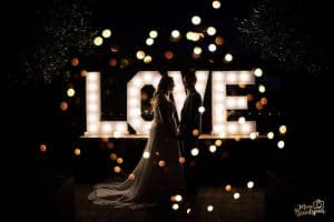 lichtletters LOVE huren
