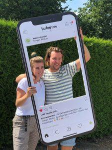 Instagram-Fotoframe-telefoon